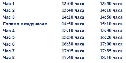 Промяна в график на учебни занятия 04.06.2021 г. - голяма снимка